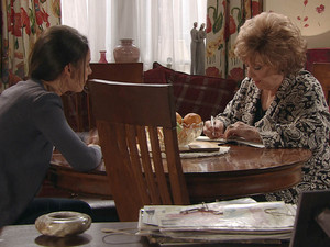 Tina insists to Rita they she knows what she is doing, and it does not matter if its illegal if nobody finds out