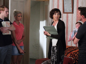 Lola's new social worker arrives unannounced and at a bad time for Billy and Lola.