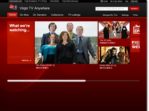 Virgin Media TV Anywhere service