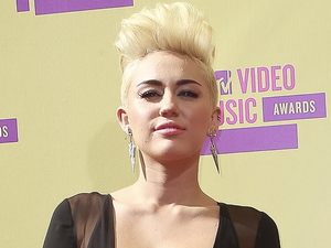 Miley Cyrus 2012 MTV Video Music Awards, held at Staples Center - Arrivals Los Angeles, California - 06.09.12 Mandatory Credit: WENN.com/FayesVision