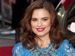 Hayley Atwell at The Sweeney UK film premiere held at the Vue cinema - Arrivals London, England
