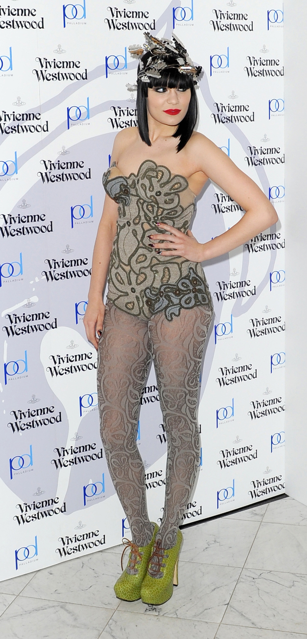 Jessie JLondon Fashion Week A/W 2011 - Vivienne Westwood's 'Get a Life' Palladium Jewellery Collection launch
