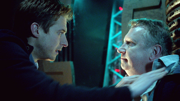 Brian Williams (Mark Williams) and Rory Williams (Arthur Darvill)