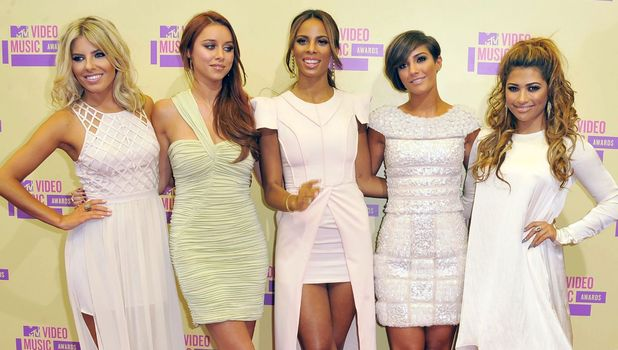 : 2012 MTV Video Music Awards Arrivals, Los Angeles, America - 06 Sep 2012 Subhead: The Saturdays Supplementary info: Categories: Personality Byline: Everett Collection/Rex Features