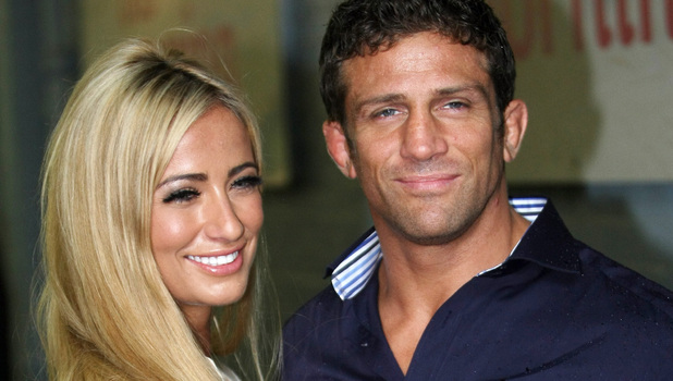 Chantelle Houghton and Alex Reid leave the ITV studios London, England - 23.08.11 Mandatory Credit: WENN.com