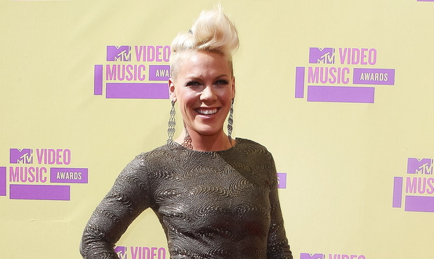Pink aka Alecia Moore 2012 MTV Video Music Awards, held at the Staples Center - Arrivals Los Angeles, California - 06.09.12 Mandatory Credit: WENN.com/FayesVision