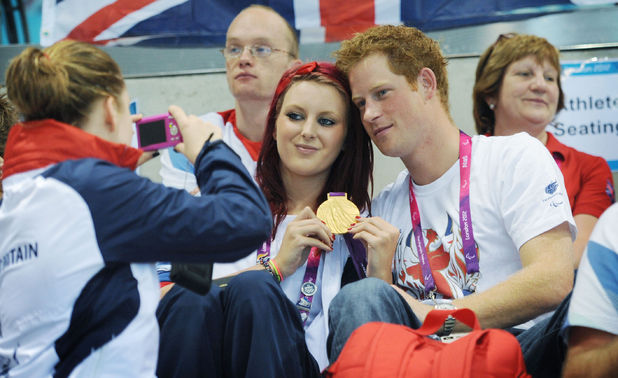 Jessica-Jane Applegate, Team GB, Paralympics 2012, Prince Harry