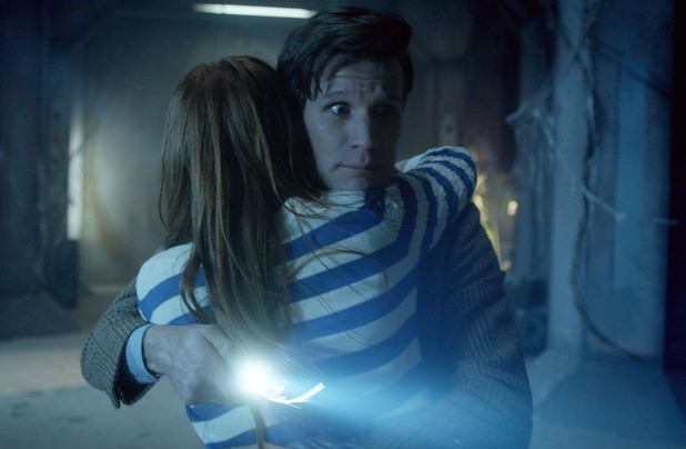 Amy Pond (Karen Gillan) and The Doctor (Matt Smith)