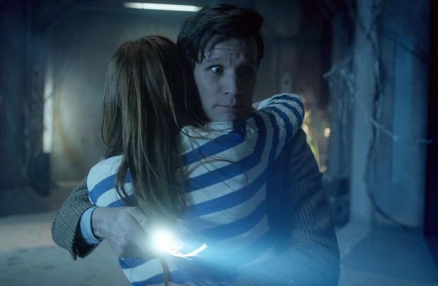 Amy Pond (Karen Gillan) and The Doctor (Matt Smith)