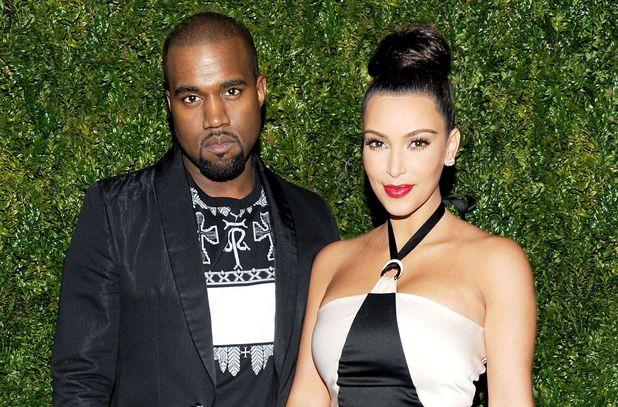 Miss Mode: Kim kardashian and kanye west monochrome 1