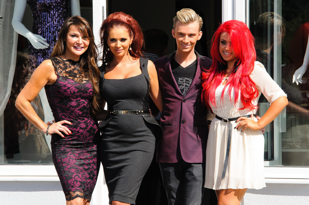 Amy Childs opens her new shop 'Amy Childs' Boutique' in Brentwood