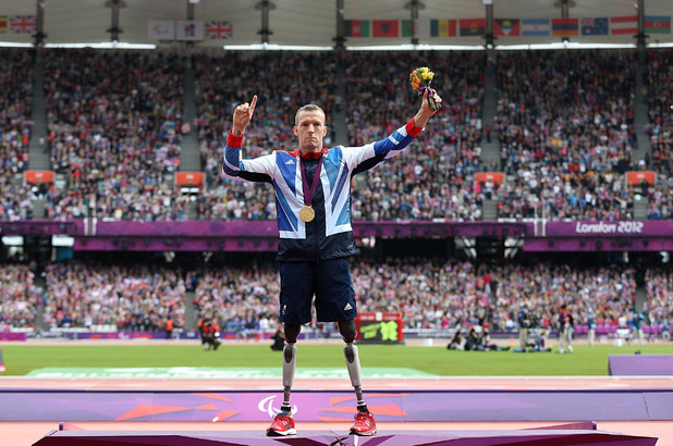Richard Whitehead - Athletics - Men's 200m T42
