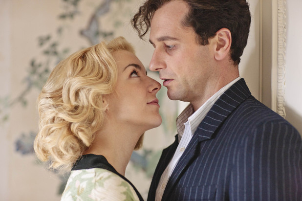 Sheridan Smith and Matthew Rhys in The Scapegoat.