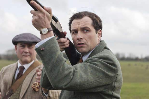 Matthew Rhys in The Scapegoat.