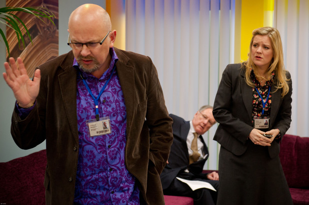 Stewart Pearson (Vincent Franklin), Glenn Cullen (James Smith), Emma Messinger (Olivia Poulet)