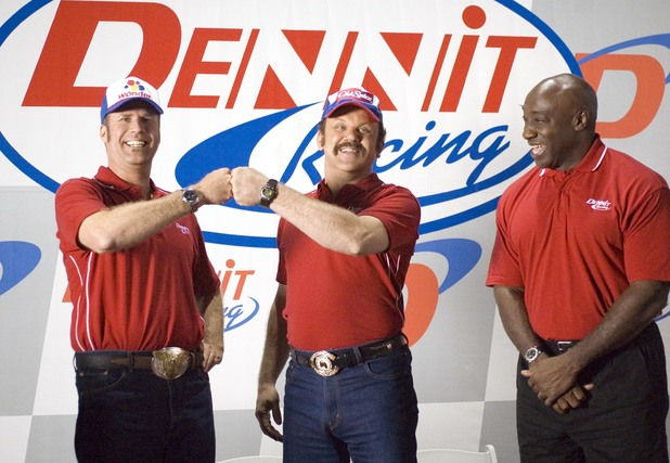 Michael Clarke Duncan stars alongside Will Ferrell in the spoof comedy 'Talladega Nights: The Ballad of Ricky Bobby' (2006)