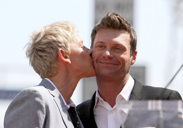 Ellen DeGeneres, Ryan Seacrest