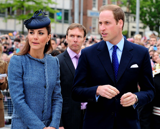 (L4 available) The Duke and Duchess of Cambridge