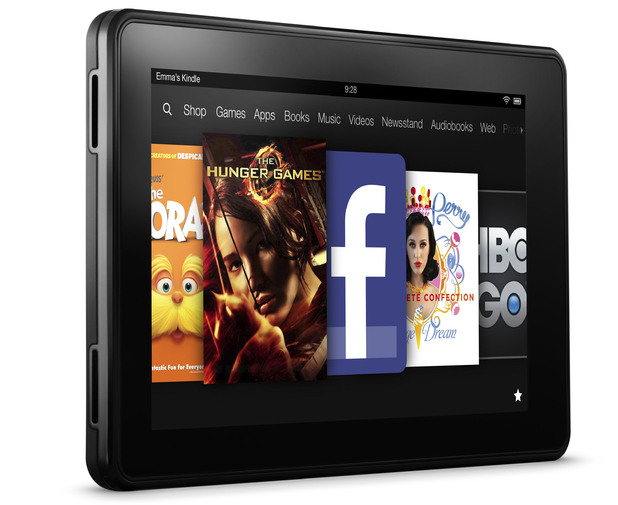 The New Kindle Fire tablet