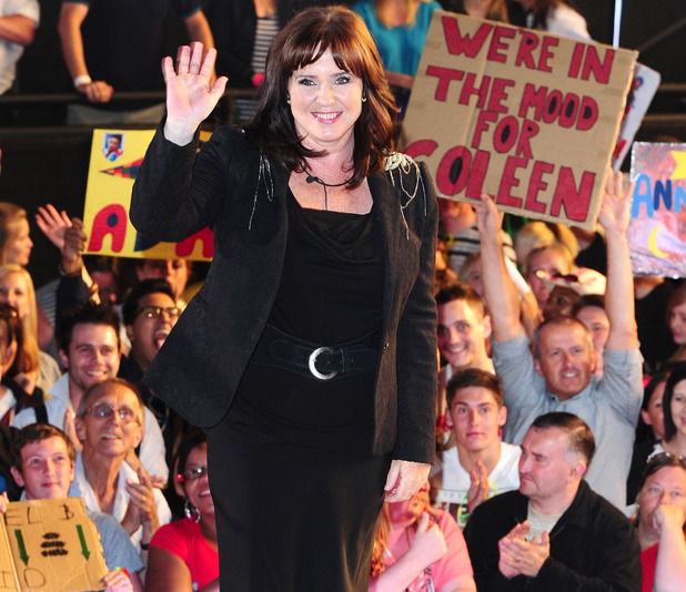 Coleen leaves the Big Brother house