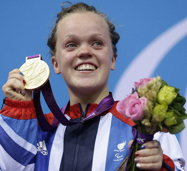 Ellie Simmonds - Swimming - 400m freestyle S6