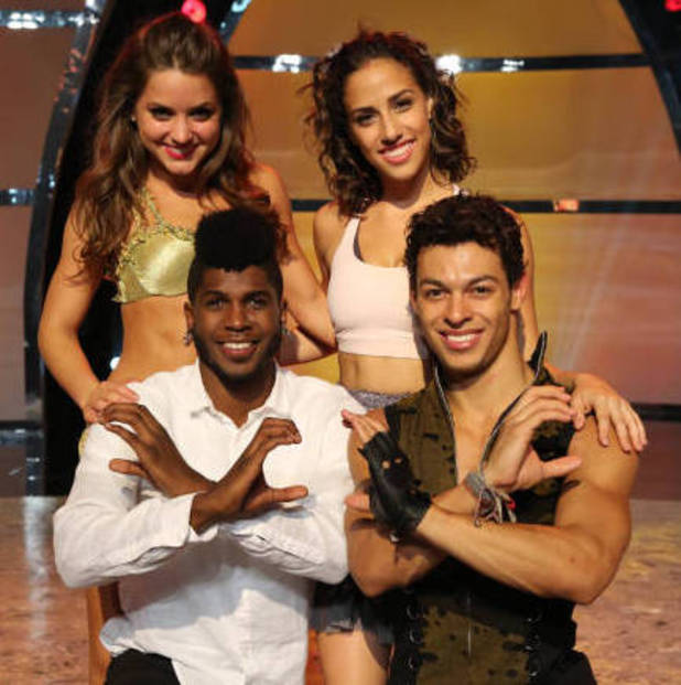 So You Think You Can Dance S09E13: Top 4 contestants Tiffany Maher, Eliana Girard, Chehon Wespi-Tschopp and Cyrus Spencer