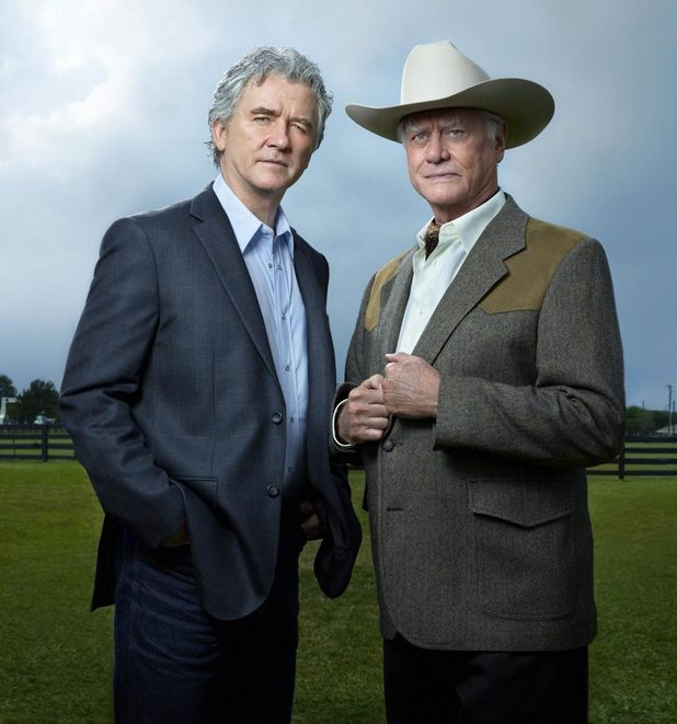 Larry Hagman and Patrick Duffy.