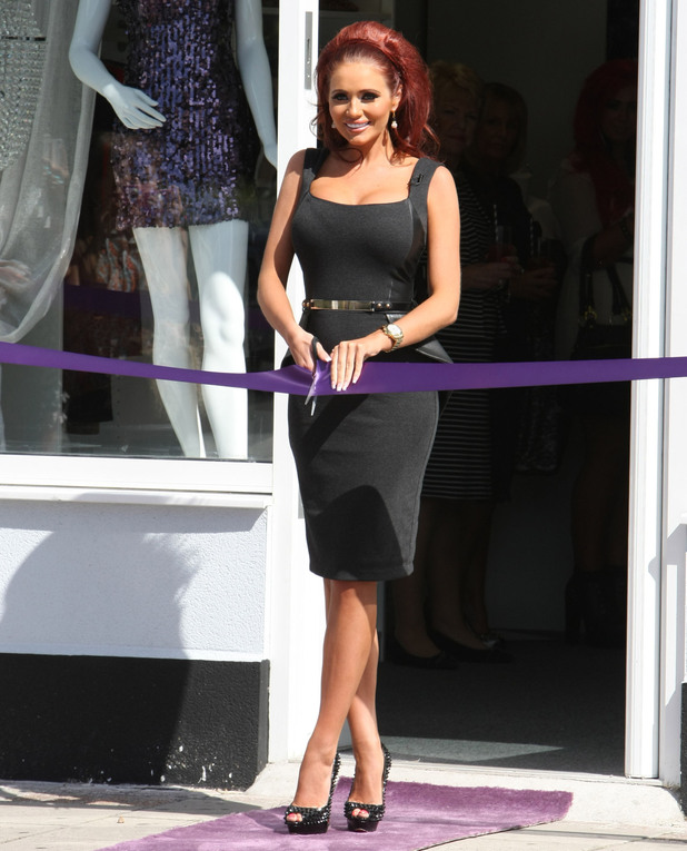 Launching Amy Childs boutique