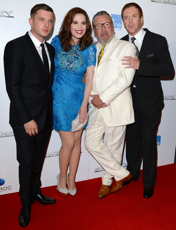 Plan B, Hayley Atwell Ray Winstone and Damian Lewis