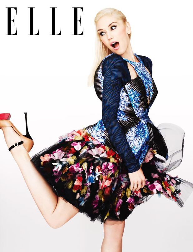 Gwen Stefani in Elle magazine (October 2012)