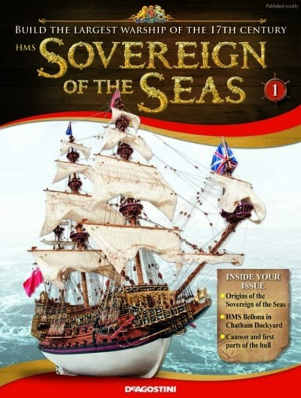 HMS Sovereign of the Seas magazine