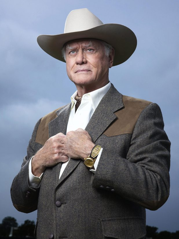 Larry Hagman as JR Ewing in Dallas