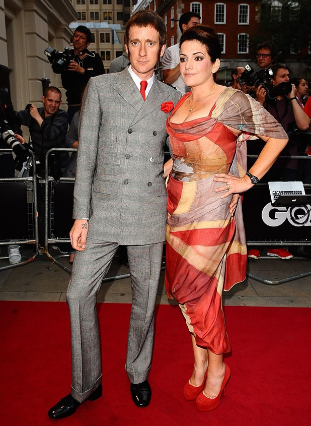 Bradley Wiggins and wife Catherine