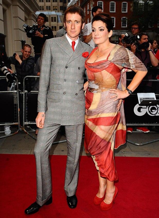 Bradley Wiggins and wife Catherine