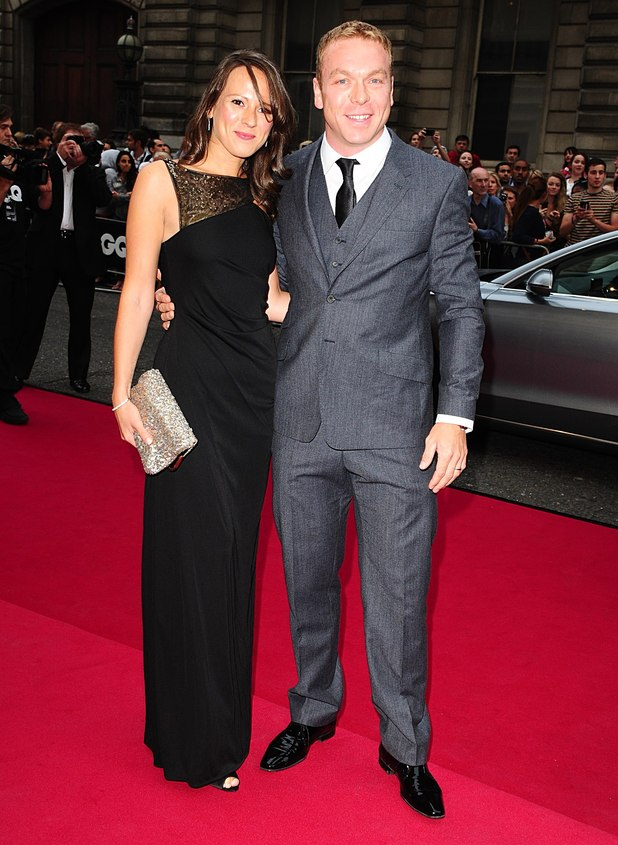 Chris Hoy and wife Sarra Kemp