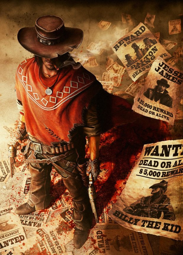 Call of Juarez Gunslinger artwork
