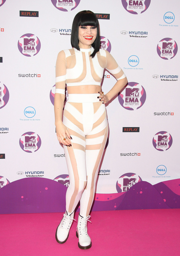 Jessie J The MTV Europe Music Awards 2011 (EMAs) held at the Odyssey Arena - Press Room Belfast, Northern Ireland com