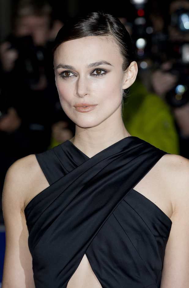 Keira Knightley, pouting