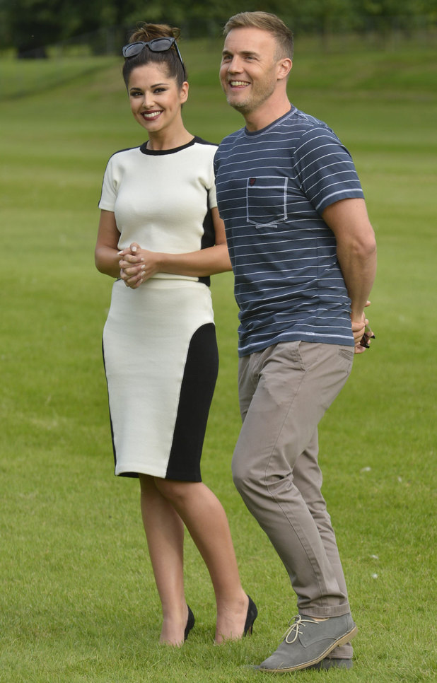 Cheryl Cole and Gary Barlow.