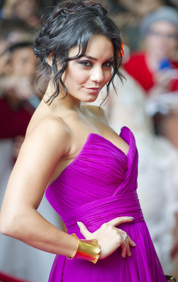Vanessa Hudgens at the 'Spring Breakers' premiere in Toronto.