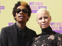 Rapper Wiz Khalifa and model Amber Rose married in July 2013.