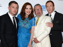 Plan B, Damian Lewis, Hayley Atwell and more at the UK premiere of The Sweeney.