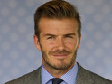 Beckham will compete against Cristiano Ronaldo for the car at an auction.