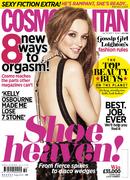 October issue of Cosmopolitan.