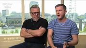 Digital Spy caught up with actors Ray Winstone and Ben Drew to talk about their roles and starring in 'The Sweeney'
