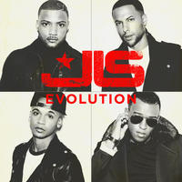 JLS &#39;Evolution&#39; album artwork.