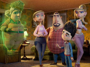 In 'ParaNorman', a small town comes under siege by zombies. Who can it call? Only misunderstood local boy Norman (voiced by Kodi Smit-McPhee), who is able to speak with the dead.