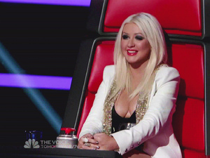 Christina Aguilera NBC's 'The Voice' Season 3, Episode 2 Blind Auditions: The coaches continue to select vocalists for their teams USA - 11.09.12 Supplied by WENN.comWENN does not claim any ownership including but not limited to Copyright or License in the attached material. Any downloading fees charged by WENN are for WENN's services only, and do not, nor are they intended to, convey to the user any ownership of Copyright or License in the material. By publishing this material you expressly agree to indemnify and to hold WENN and its directors, shareholders and employees harmless from any loss, claims, damages, demands, expenses (including legal fees), or any causes of action or  allegation against WENN arising out of or connected in any way with publication of the material.