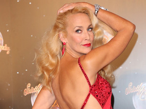 Jerry Hall Strictly Come Dancing 2012 launch - Arrivals London, EnglandMandatory Credit: Lia Toby/WENN.com