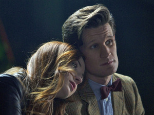 Doctor Who S07E04 - &#39;The Power of Three&#39;: Amy Pond (KAREN GILLAN), The Doctor (MATT SMITH)